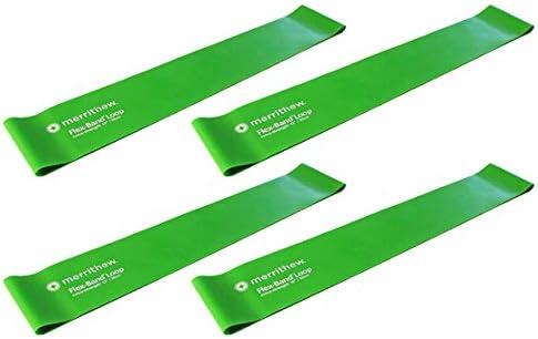 Merrithew Flex-Band Loops Extra shop Green Max 88% OFF Strength 12