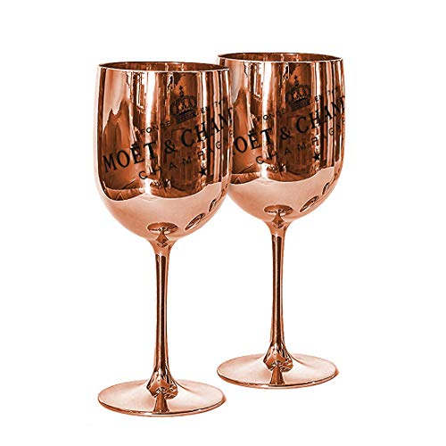 Moët & Chandon Ice Imperial Champagnergläser, Kunststoff, Acryl rose gold