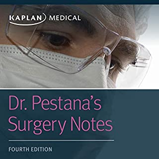 Dr. Pestana's Surgery Notes     Top 180 Vignettes for the Surgical Wards              Written by:                                                                                                                                 Dr. Carlos Pestana                               Narrated by:                                                                                                                                 Matthew Kugler                      Length: 6 hrs and 50 mins     Not rated yet     Overall 0.0