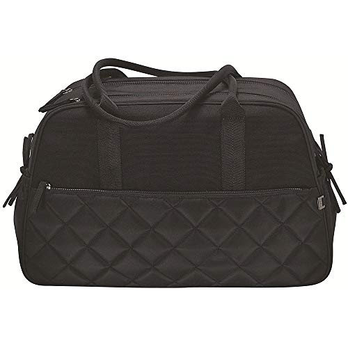 OiOi Quilted Carry All Bag in Black