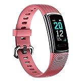 TOOBUR Montre Connectée Bracelet Connecté, Smartwatch Tracker d'Activité avec...