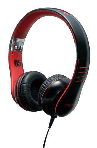Vestax HMX-05 Nero, Rosso Circumaurale Padiglione auricolare cuffia
