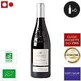 6 bouteilles • Cascavel Selection Parcellaire - Vin Certifié Biologique - Ruelles & Vallons Côtes du Rhône Villages villages Sablet Rouge 2015 6x75cl