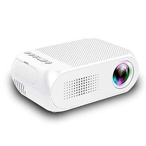 TAIQIXI Versión De Batería Incorporada Micro Proyector Led Casero HD 1080p