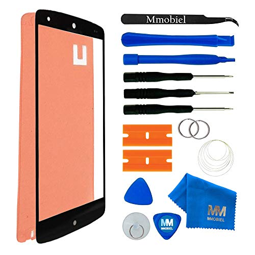 MMOBIEL Kit de Reemplazo de Pantalla Táctil Compatible con LG Google Nexus 5 (Negro) Incl. Kit de Herramientas