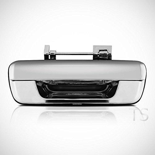 megaauto Rear Door Handle Tailgate Chrome Parts Handle Isuzu Rodeo Dmax D-Max 2002-2011