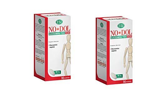 2 x Esi Glucosamina Pura, 500 Mg Integratore alimentare - 90 Ovalette