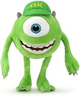 Disney Mike Wazowski Mini Bean Bag Plush - Monsters University - 9''