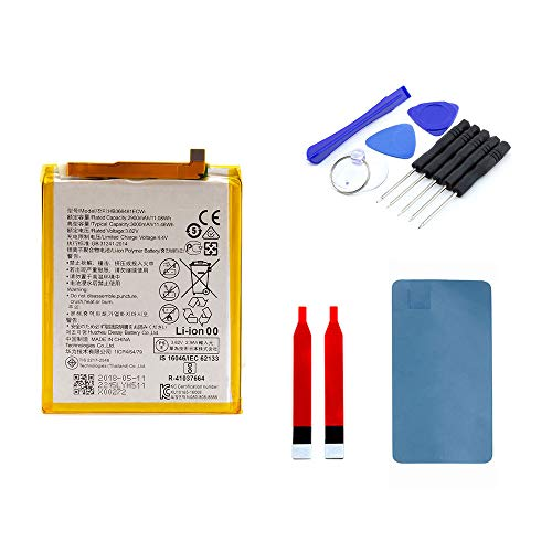 kaputt.de AKKU Set Batterie für Huawei Honor 8 | 2900 mAh | 3,82 V | HB366481ECW | Reparaturset