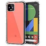 MoKo Kompatibel für Google Pixel 4 XL Hülle, Ultra Slim TPU Handy Schutzhülle Schale Silikon Kristall Durchsichtig Serie Handyhülle für Google Pixel 4XL 6.3 inch 2019 - Klar