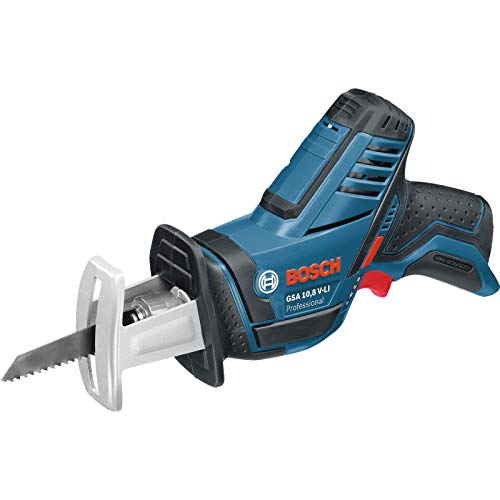 Bosch Professional EDM Tecnología de Litio 2 hojas de sierra, Gama 10,8 V, Negro / Azul / Rojo / Plata, en caja