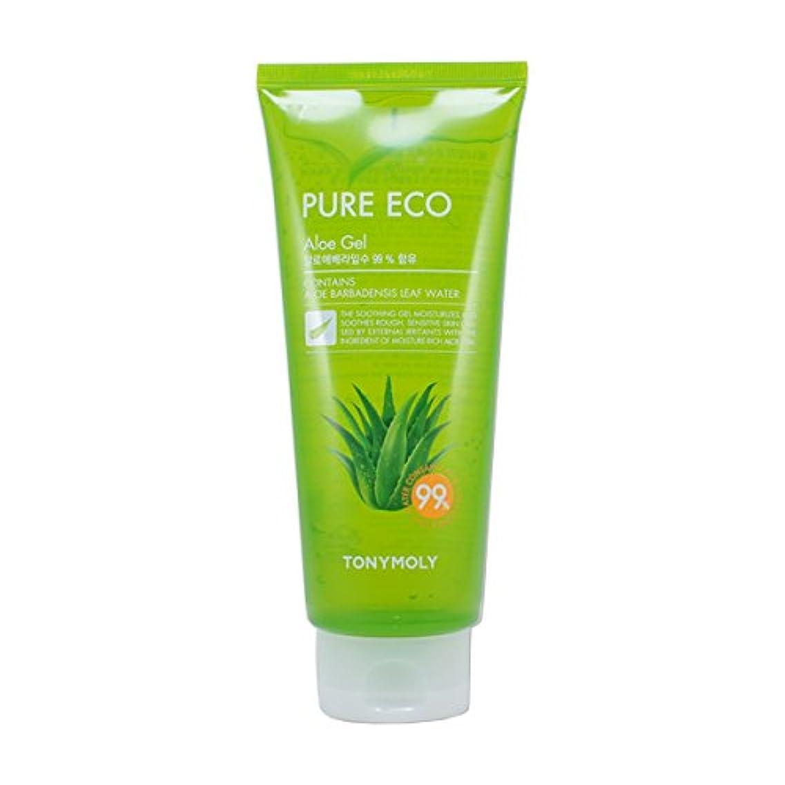 有効化株式何十人も(3 Pack) TONYMOLY Pure Eco Aloe Gel (Tube) (並行輸入品)