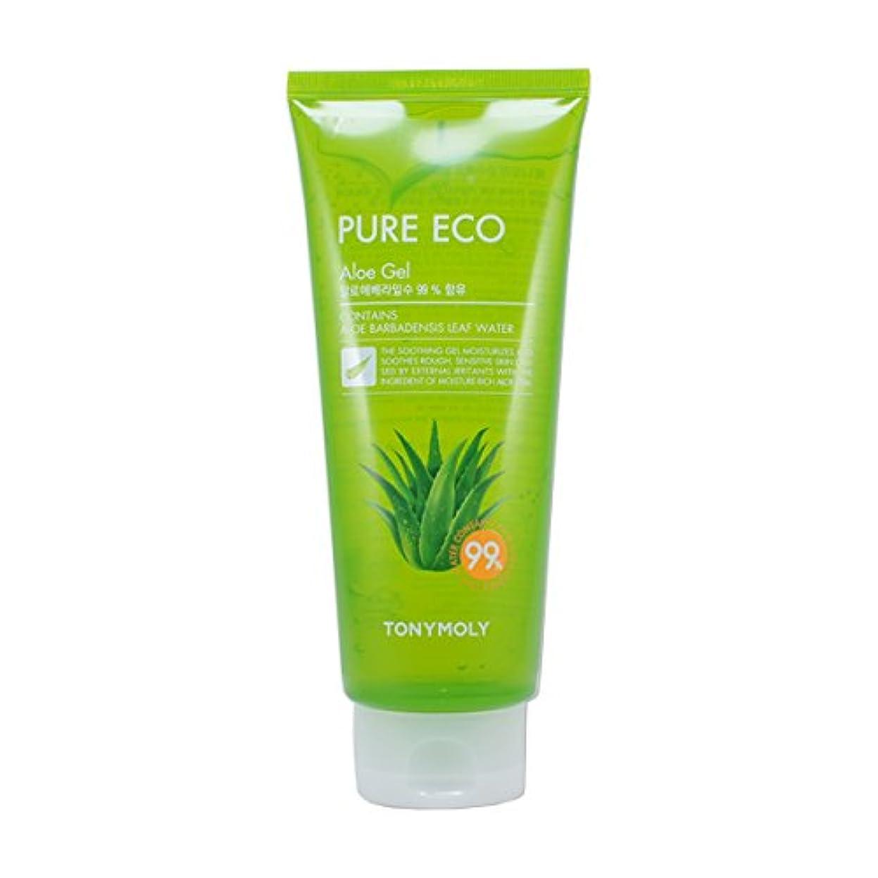 商品テザー印をつける(6 Pack) TONYMOLY Pure Eco Aloe Gel (Tube) (並行輸入品)