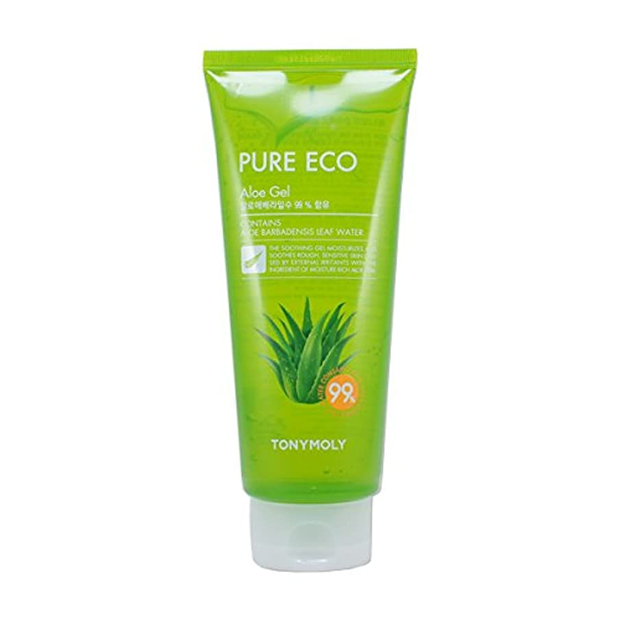 クール病気戦術(6 Pack) TONYMOLY Pure Eco Aloe Gel (Tube) (並行輸入品)