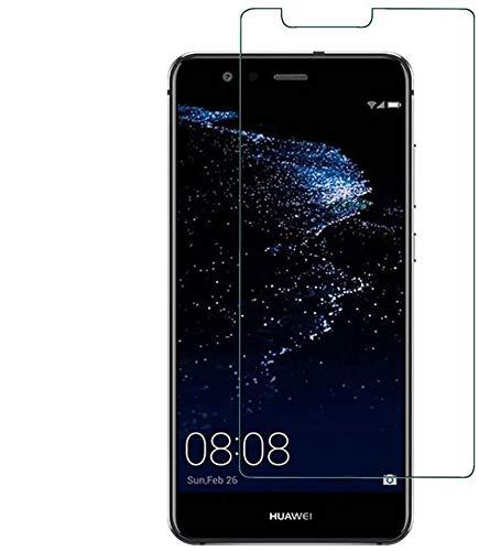 REY Protector de Pantalla para Huawei P10 Lite, Cristal Vidr