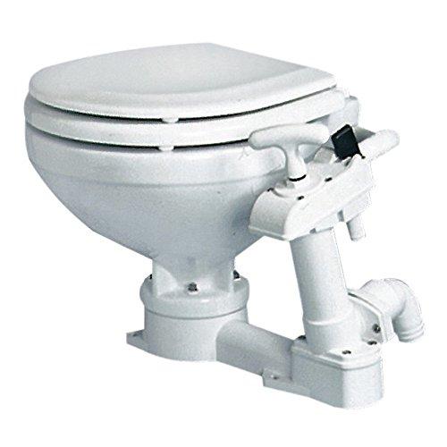 Osculati WC manuale Super Compact Legno (Super Compact Manual Toilet Unit Wooden Seat)