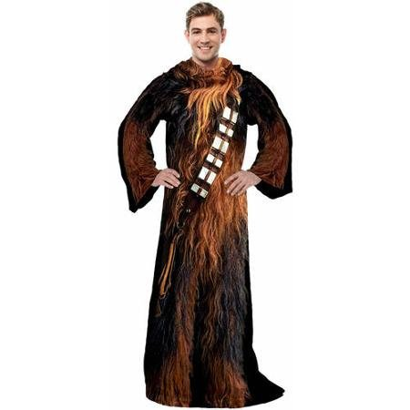 Star Wars Chewbacca Confortable Couvre-Lit avec Manches Taille Adulte