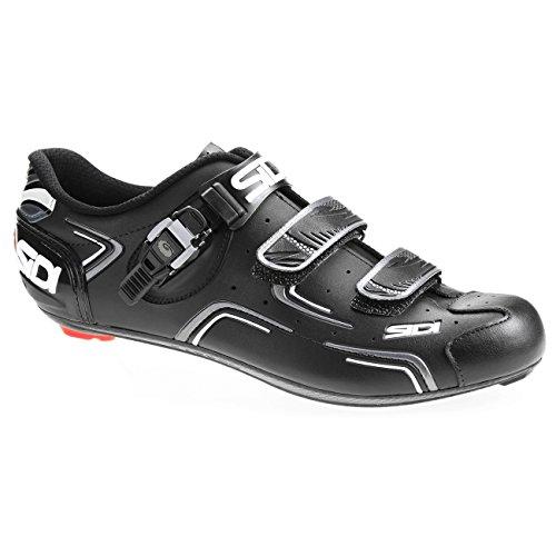 Sidi Level Road Schuhe, Schwarz (schwarz), 40 EU