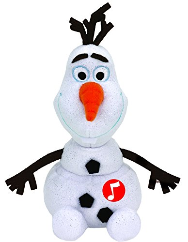 Disney Frozen - Olaf, Peluche con Sonido, 15 cm, Color Blanco (TY ...