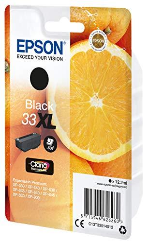 Epson C13T33514022 Schwarz Original 33XL Tintenpatronen Pack of 1