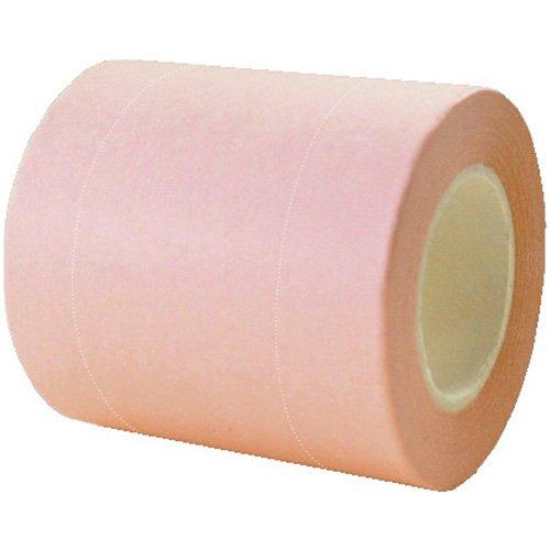 自由な長さにカット、メモ、貼付、便利でスマートなロールふせん 「ROLF(ロルフ)アルファ リフィル」巾50mm 1本組 ※ミシン目2本入 (パステルピンク)