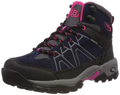 Bruetting Damen Mount Cornwell Trekking-& Wanderstiefel, Blau (Marine/Schwarz/Pink), 39 EU