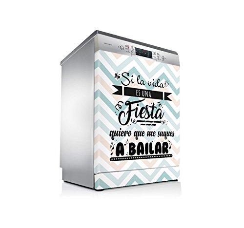 setecientosgramos Vinilo Lavavajillas | Stickers Dishwasher | Pegatina Lavavajillas | A Bailar!