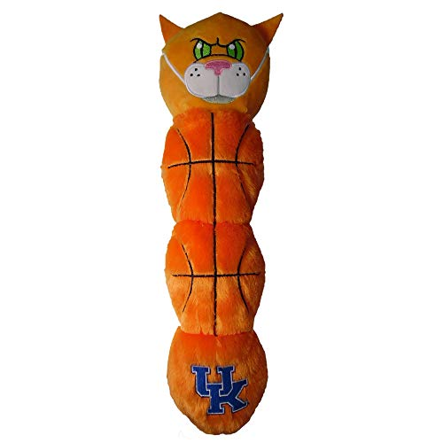 Pets First 'NCAA Kentucky Wildcats - Wildcat Mascot Toy for Pets. Plush Dog Toy with 5 Inner SQUEAKERS. 21'' Long Dog Toy, one Size (KY-3226)