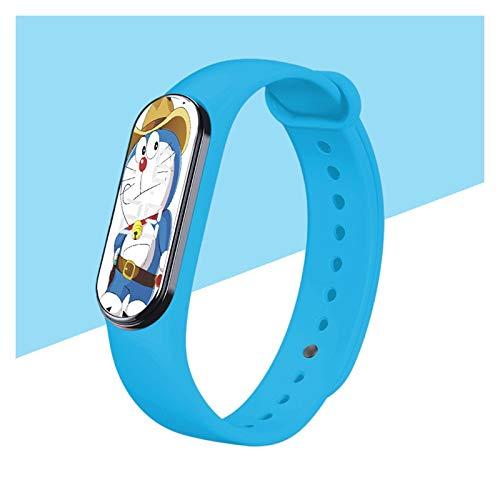 Fenshan223 Lindo Dibujos Animados niño Reloj niños Digital led Muchacho Relojes Impermeable Deporte Multicolor Silicona Correa Adolescente niña Reloj Regalo 2021 DDM