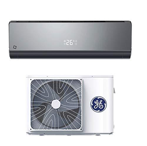 Climatizzatore 9000 Btu, Inverter, Classe A+++/A++, Gas R32, Nero, Unità Interna + Unità Esterna