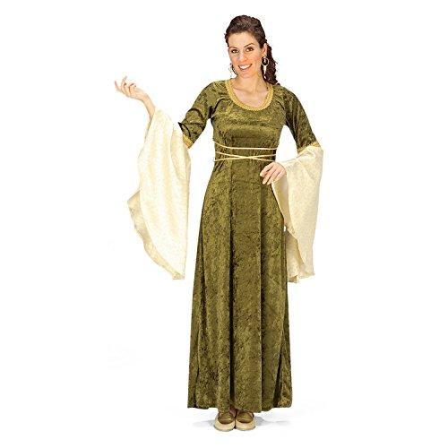 Rol en vivo - Disfraz de elfa - Vestido Medieval - Para mujeres ...