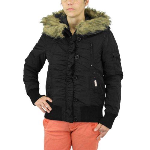 Lonsdale London Frauen Winterjacke Conny Black - XL
