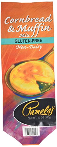 Pamela's Products Cornbread & Muffin Mix , 12 Ounce Bag