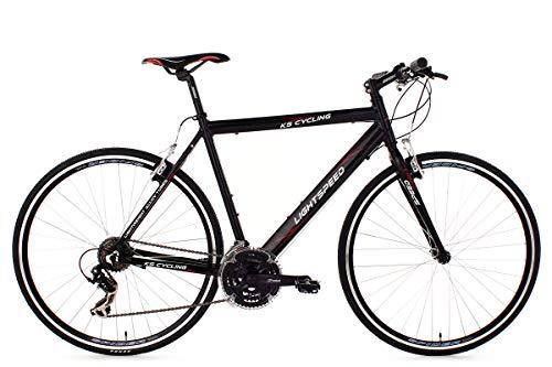 KS Cycling Fitnessbike 28\'\' Lightspeed schwarz Alu-Rahmen RH58cm