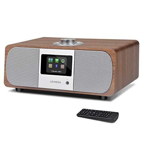 LEMEGA M3P WiFi Stereo Internet Radio, FM Digital Radio, Wireless Bluetooth...