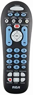 RCA RCR313BR Big Button Three-Device Universal Remote, Black