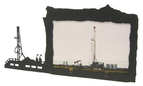 Innovative Fabricators, Inc. Oil Rig Frame 4x6 Horizontal Picture Frame