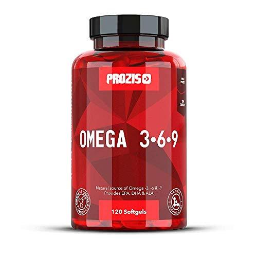 Prozis Foods Omega 3-6-9, Suplementos - 120 Capsulas