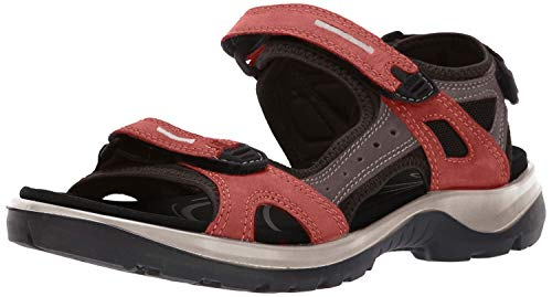 ECCO Damen Offroad Riemchensandalen, Orange (Apricot/Dark Clay 51761), 40 EU