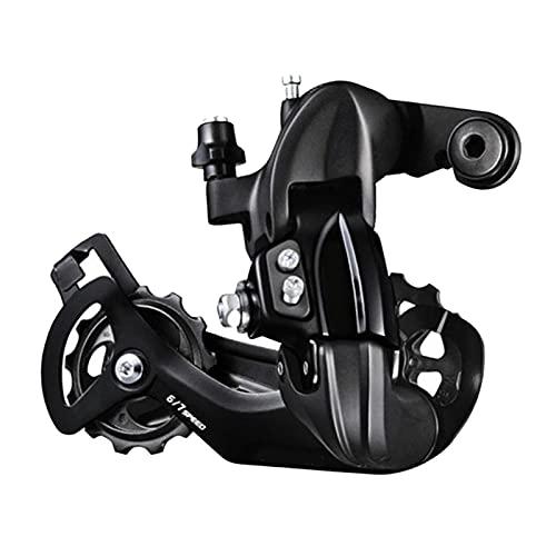 Hellery Desviador Trasero TY300, transmisión de Cambio de Bicicleta de 6 7 8 velocidades para Cambio de Piezas de Bicicleta MTB para Ciclismo al Aire Libre