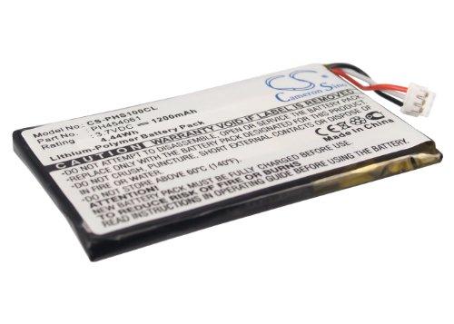 CS Teléfono inalámbrico batería, Li-polímero de litio 3,7 V 1200 mAh/4,44 wh Compatible con [Philips] S10A, S10A/38, S10H, equivalente a [Philips] PH454061