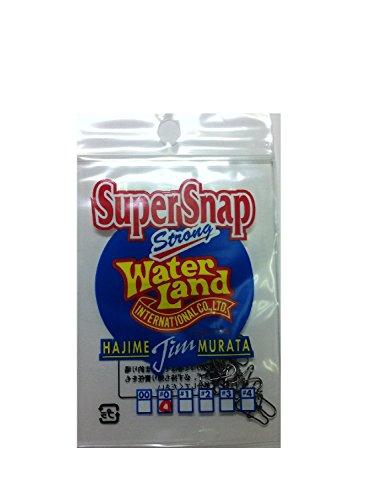 Water Land(ウォーターランド) スーパースナップ ブラック #0