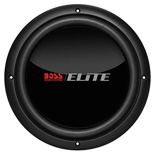 BOSS Audio Systems Elite BDVC10 10 Inch Car Subwoofer - 1500 Watts Maximum Power, Dual 4 Ohm Voice Coil, Black