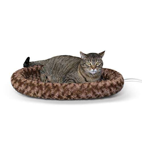 K&H Pet Products Thermo-Kitty Fashion Splash Heated Cat Bed