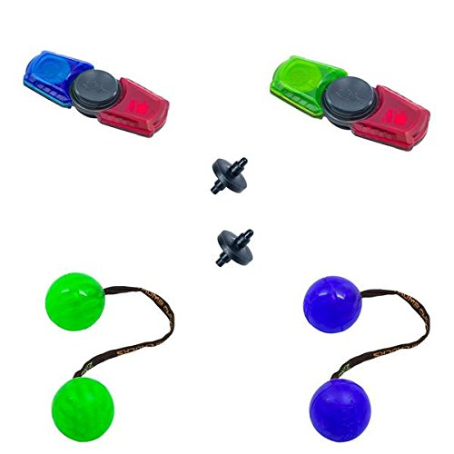 Zing 2X Thumb Chucks and 2X Spin Bladez Set