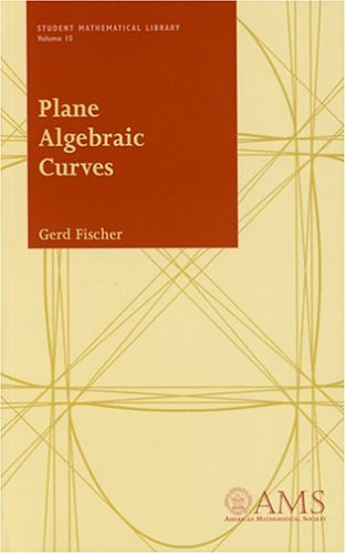 Plane Algebraic Curves (Student Mathematical Library, V. 15)の詳細を見る