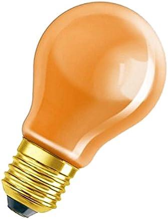 OSRAM light bulb / Special coloured bulb in orange / E27-Socket / 11 watt