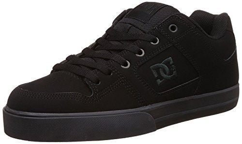 DC Shoes, PURE M SHOE - Zapatillas para hombre, Negro (Black / Pirate Black), 48.5