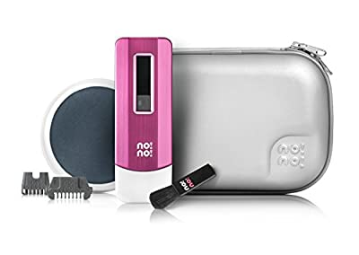 no!no! PRO Hair Removal System Deluxe Kit with Free Gifts (Pink)