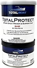 TotalBoat TotalProtect Epoxy Barrier Coat System (White, Quart)